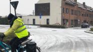 Eerste sneeuwvlokjes bereiken het Hageland