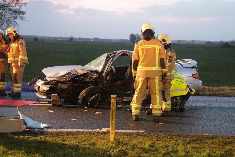 Het ongeluk op de N855