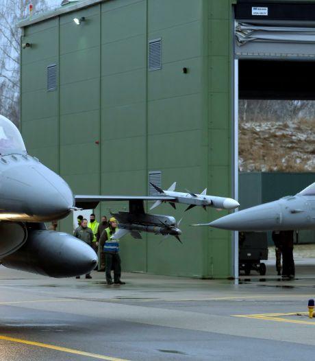 Des F-16 de l'armée américaine vont être entretenus à Charleroi