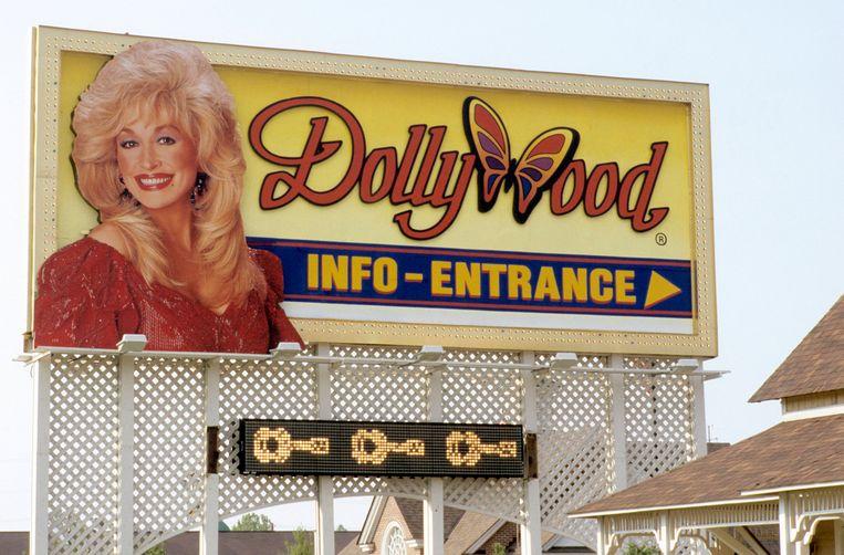 De ingang van Dollywood. Beeld Redferns