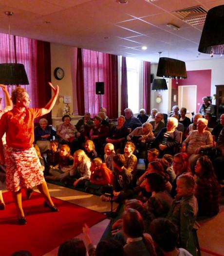 Theater Krachtvoer bezorgt bewoners Sint Antonius een topdag