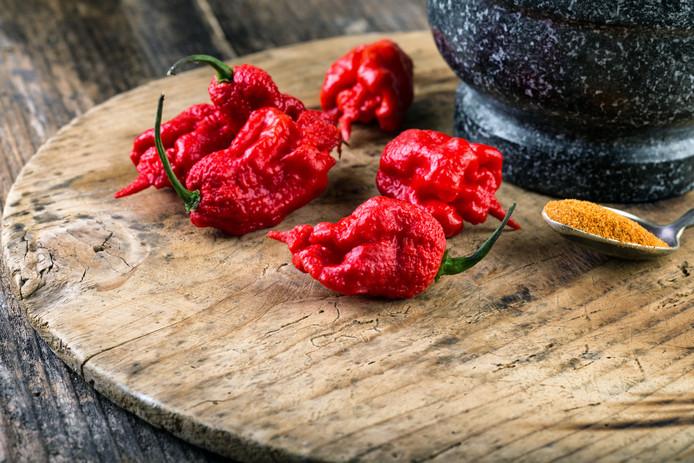 Carolina Reaper werd vijf jaar geleden uitgeroepen tot de heetste peper ter wereld.