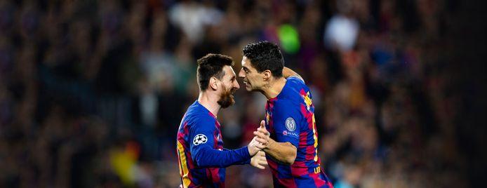 Lionel Messi et Luis Suarez continuent de régaler... dans des clubs différents.