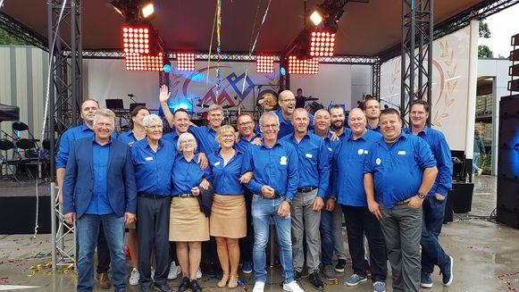 Het hele team van Mattheeussen Bouwmaterialen.