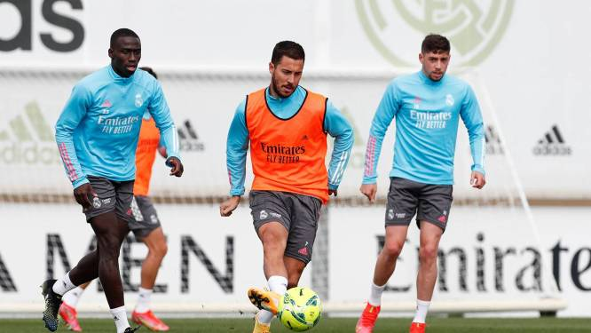 """Hazard traint apart bij Real, maar geen reden tot paniek: """"Volgens normale planning"""""""