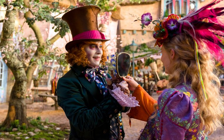 Johnny Depp in 'Alice Through The Looking Glass'.