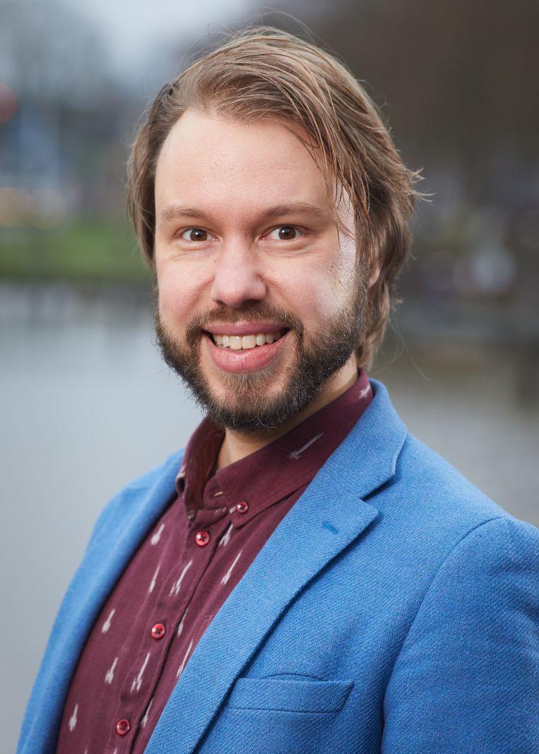 Paul Schenderling is econoom bij Berenschot en adviseert overheden over sociale vraagstukken. Beeld