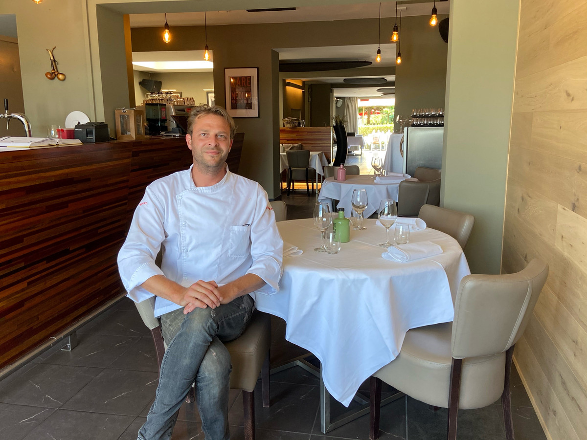 Chef-zaakvoerder Olivier Van Camp heeft La Pipe van brasserie omgetoverd tot volwaardig restaurant