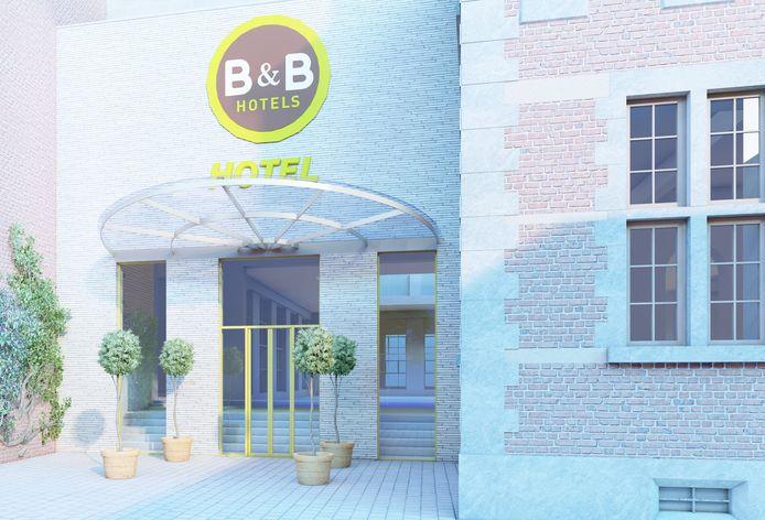 Group GL International zal samen met B&B hotels het ketenhotel aan het oude gasthuis in Hasselt vormgeven.