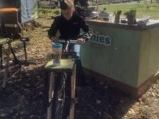 Je eigen smoothie door elkaar fietsen, op Waalwijks duurzaamheidsfestival kan veel