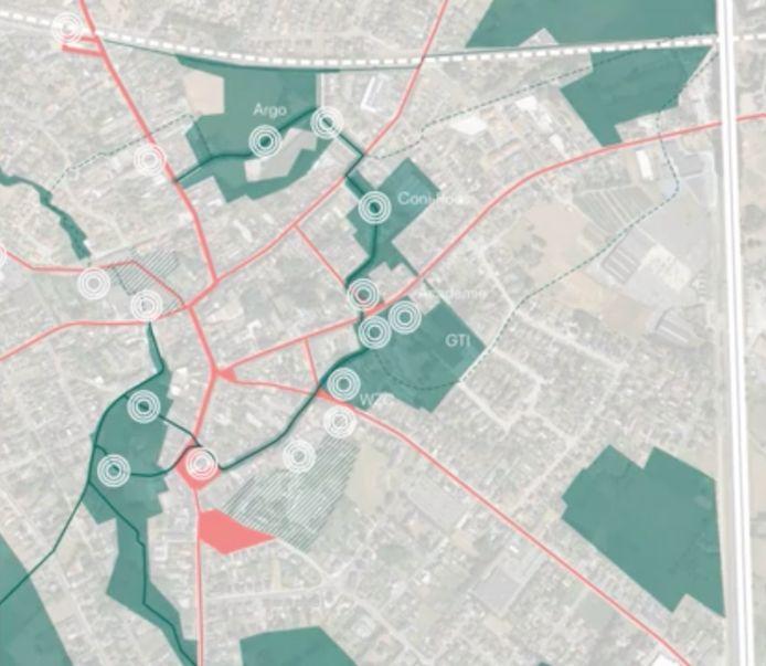 inspiratie enquête Londerzeel: groene zones uitspelen