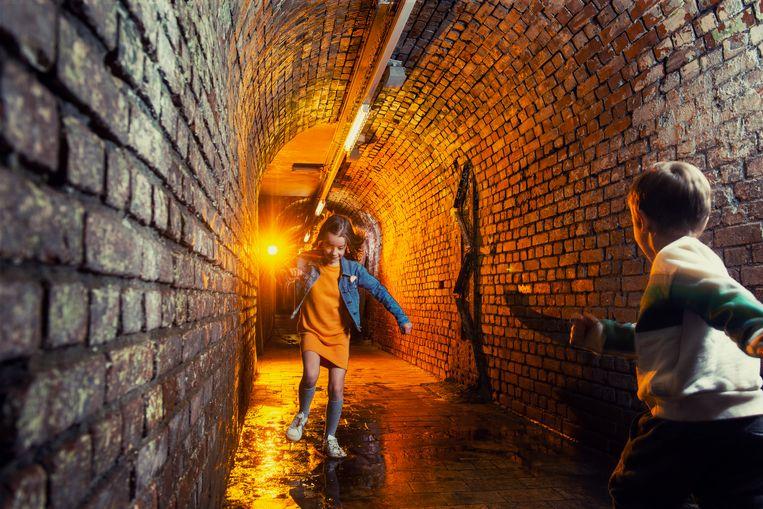 Een van de koelste plekken in Limburg is een oude mijngang die nu is uitgebouwd als The C Mine Expeditie, een belevingsparcours over het mijnverleden.