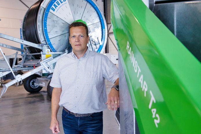 Algemeen directeur Jan P. Smits.