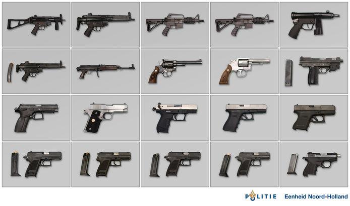 In de Hoofddorpse wijk Graan voor Visch werden in maart 2019 in een garagebox automatische vuurwapens aangetroffen. Het was de start van een uitgebreid recherche onderzoek.
