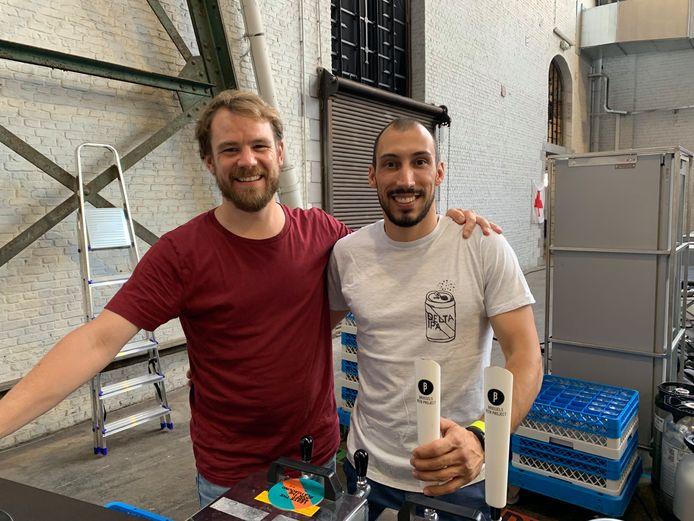 De mannen van Brussels Beer Project.