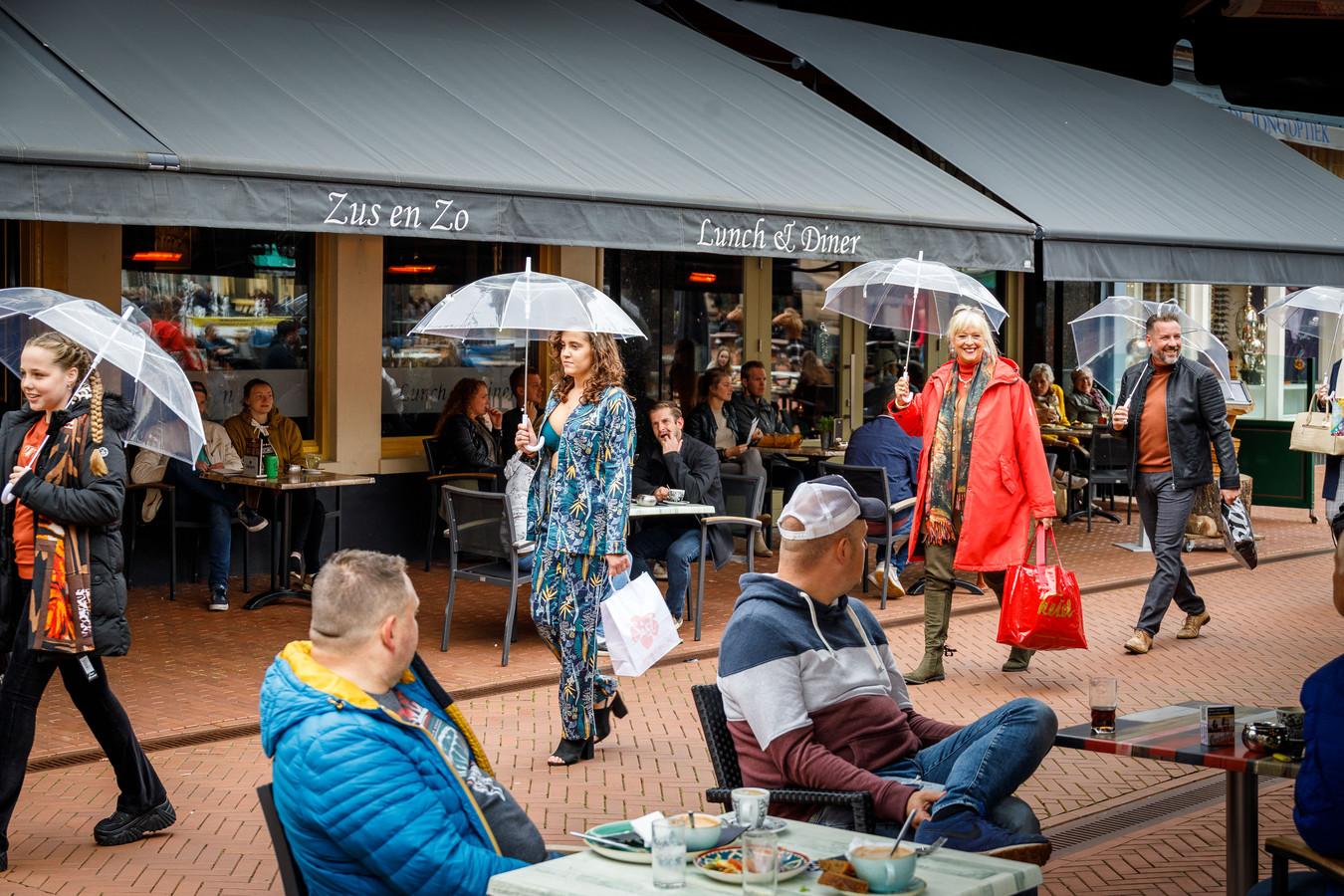 Het Fashion Weekend betekende een oppepper voor de Steenwijker middenstand.