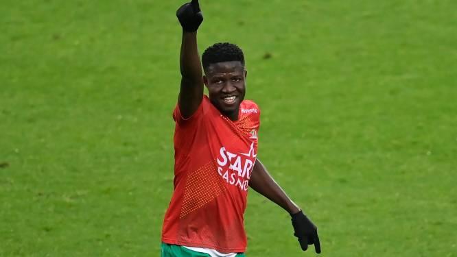 """Makhtar Gueye (KV Oostende) droomt van nationale ploeg: """"Graag met Senegal in 2022 naar Africa Cup"""""""