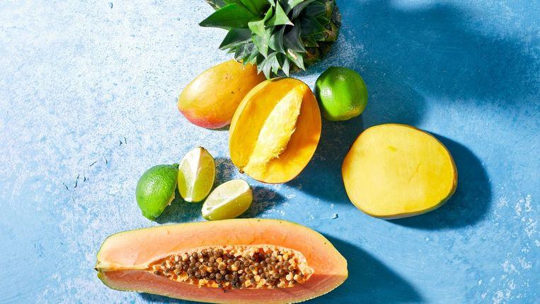 Mango en meloen Beeld Libelle magazine