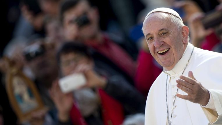 Paus Franciscus Beeld epa