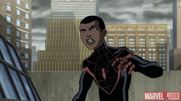 Miles Morales voordat hij onlangs de officiële opvolger van Peter Parker werd. Beeld Marvel