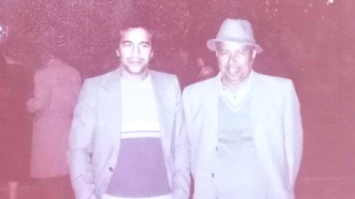 Staatssecretaris voor Asiel en Migratie Sammy Mahdi (CD&V) plaatste een foto op Twitter van zijn vader (links) en grootvader (rechts).