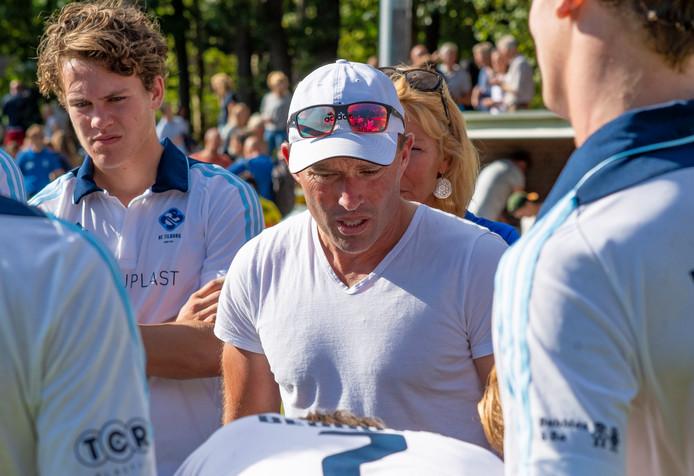 HC Tilburg-coach Jeroen Delmee op archiefbeeld.