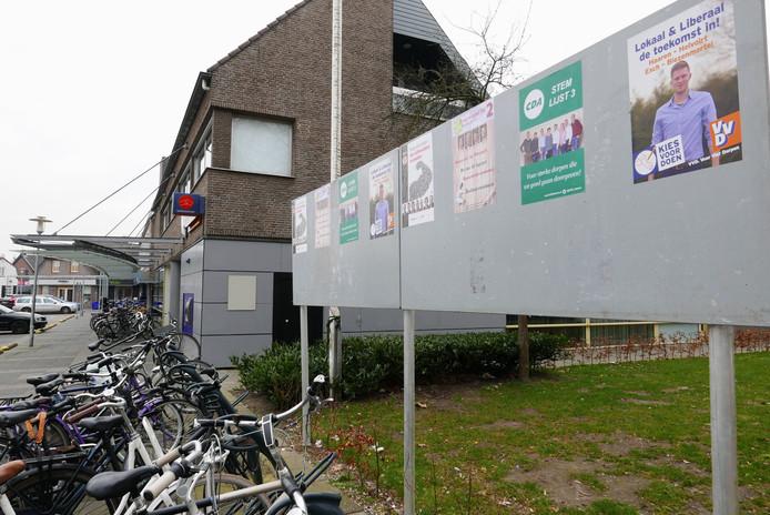 Voor de gemeenteraadsverkiezingen in maart 2018 ging heel Haaren nog naar de stembus.