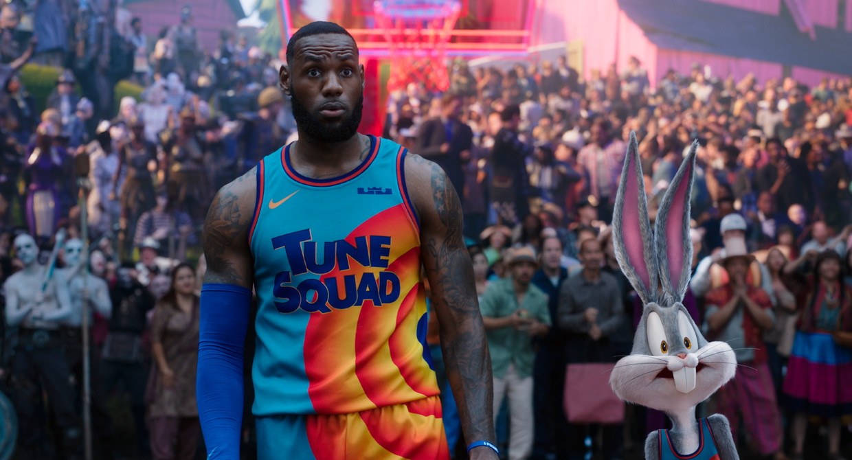 LeBron James in 'Space Jam: A New Legacy.' Beeld AP