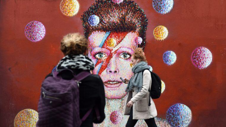 Een muurschildering in Brixton, de geboorteplaats van David Bowie. Beeld epa