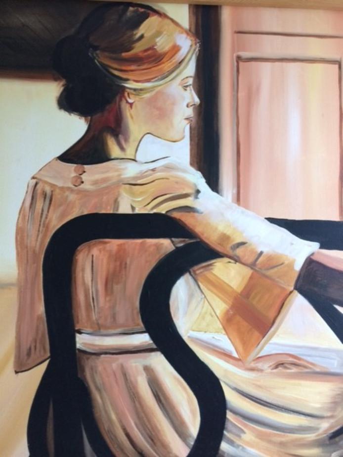 Jolina, schilderij van Jolijn Hendriks