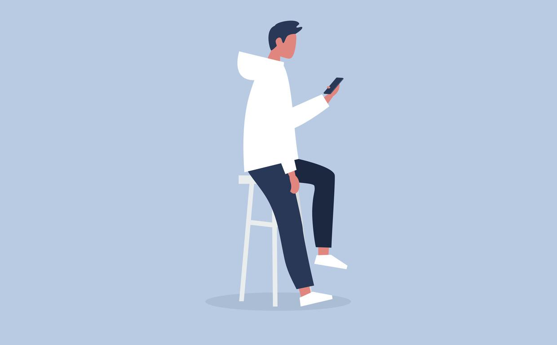 Technologie heeft alles nog makkelijker gemaakt, zeggen experts. Een zoveelste sms per telefoon is nu eenmaal makkelijker dan een brief per post. Beeld Getty Images/iStockphoto