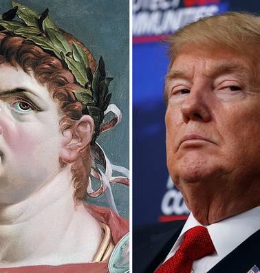 Wie Trump wil begrijpen, moet naar Romeinse keizers kijken