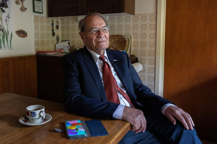 Wim Troost, grondlegger van ASML aan de keukentafel