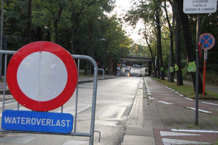 Aan de Felix de Bethunelaan in Kortrijk deed zich tijdens wegenwerken de opmerkelijke arrestatie voor.