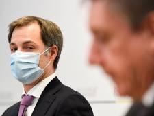 """Le gouvernement flamand met la pression à Alexander De Croo avec son """"plan des libertés"""""""