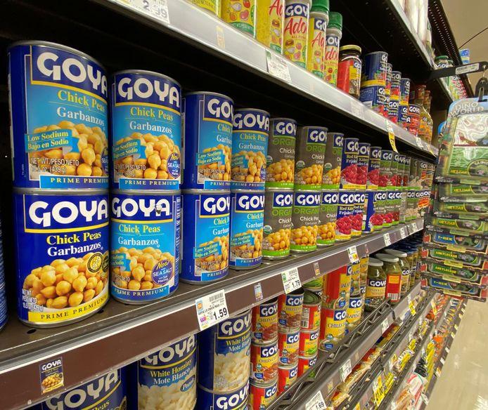 De bonen van Goya zijn niet langer onomstreden, dankzij Donald Trump.