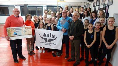 Dansgroep Syrah verzamelt 1.405 euro voor Okin