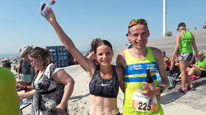 Monica Sanderse en Erwin Harmes waren in 2019 de laatste winnaars van de Hardloop3daagse.