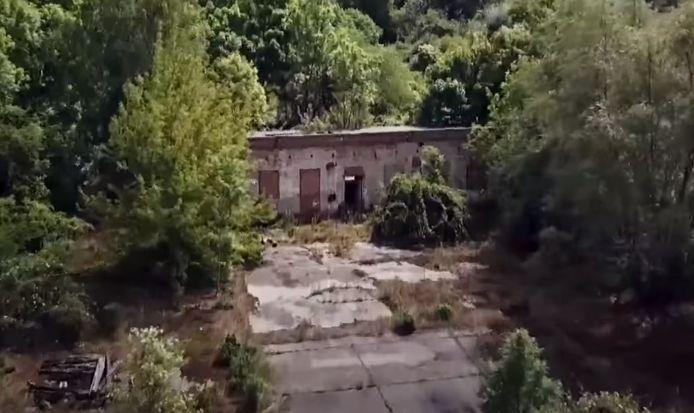 L'usine désaffectée où le matériel informatique a été retrouvé