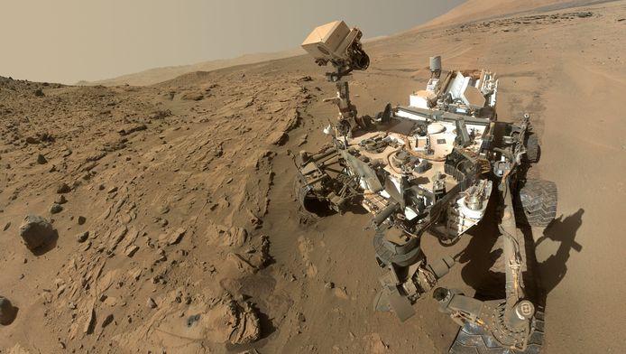 Marsrover Curiosity.