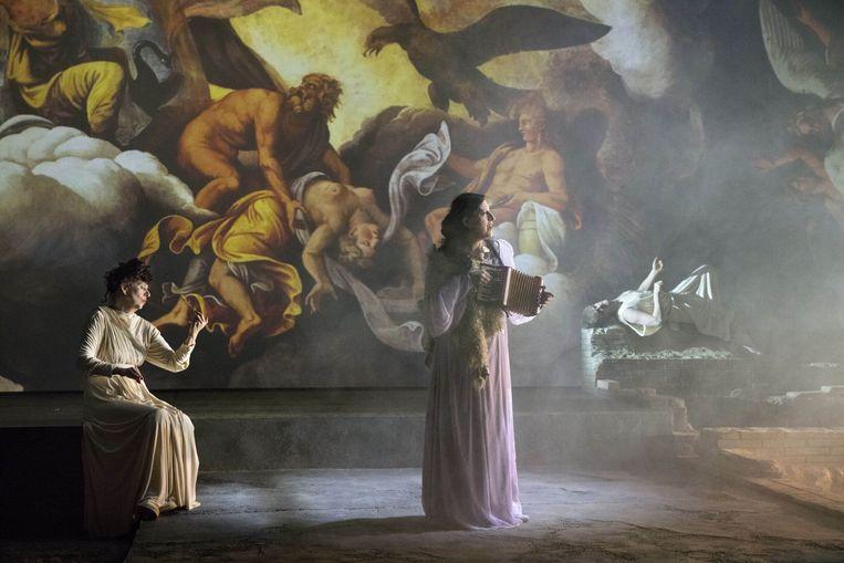 'Dido and Aeneas' van regisseur David Marton: de versie van Opera Ballet Vlaanderen. Beeld Annemie Augustijns