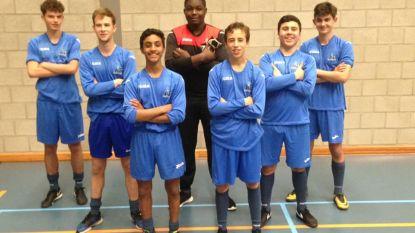 Scholieren Campus De Brug provinciaal kampioen voetbal
