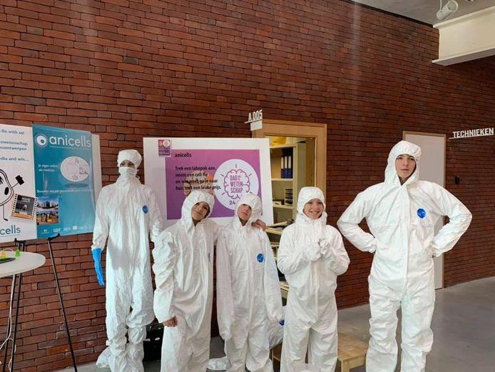 De Dag van de Wetenschap in het Wetenschapspark kon op zo'n 500 bezoekers rekenen.