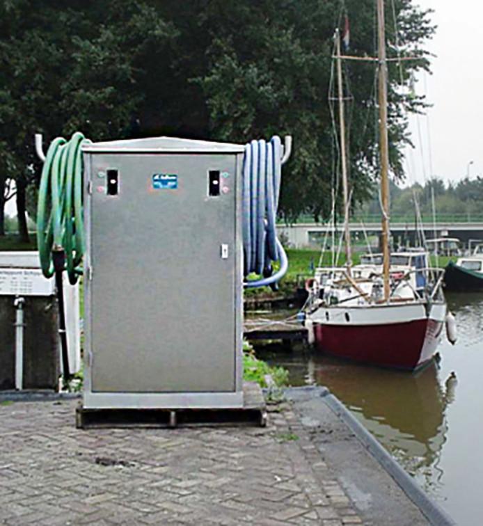 Een afvalwaterstation.