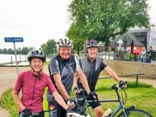 Uitpuffen en oppeppen bij de fietspleisterplaatsen