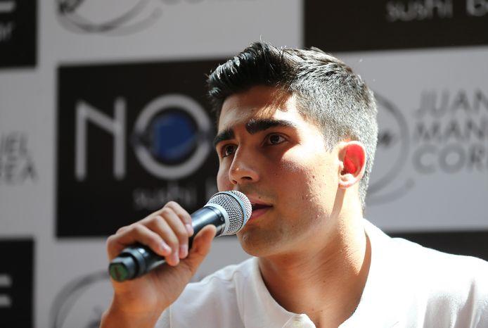 Juan Manuel Correa in augustus 2019.