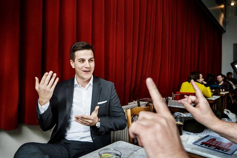 Dries Van Langenhove, oprichter van Schild & Vrienden. Beeld Eric de Mildt