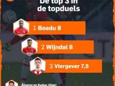 Wijndal en Boadu blinken uit, Álvarez zwakste schakel bij Ajax