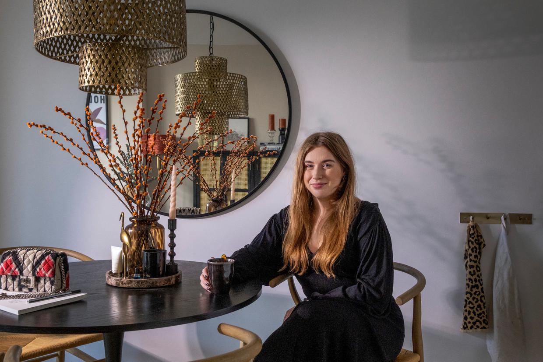 Lindsey van Welzen: 'Ik speur elke dag Funda af'.