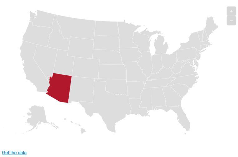 Arizona. Beeld De Morgen